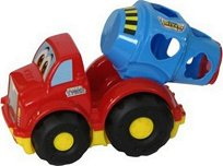 Сортер - Бетоновоз - Детска играчка с фигурки за сортиране -