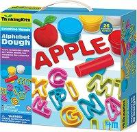 """Пластилин - Английската азбука - Образователен комплект от серията """"Thinking Kits"""" - образователен комплект"""