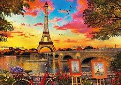 Залез в Париж -