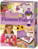 Декорирай феите с преса за цветя - играчка