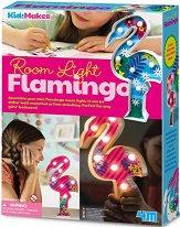 Направи сама декоративна лампа - Фламинго - продукт