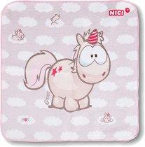 """Детска памучна кърпа - С размери 30 x 30 cm от серията """"NICI: Theodor & Friends"""" -"""