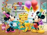 """Рожденният ден на Мини Маус - Пъзел от серията """"Мики Маус"""" - пъзел"""
