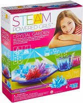 Градина от кристали - Образователен комплект от серията Steam Powered Kids - творчески комплект