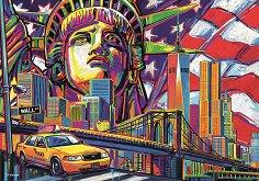 Цветен Ню Йорк - П. Д. Морено (P. D. Moreno) - пъзел
