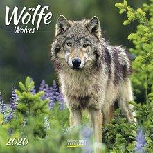 Стенен календар - Wolves 2020 -
