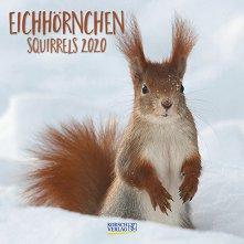 Стенен календар - Squirrels 2020 -