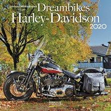 Стенен календар - Dreambikes: Harley-Davidson 2020 -