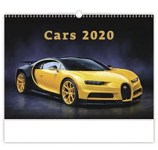 Стенен календар - Cars 2020 -