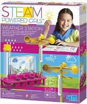 Метеорологична станция - Образователен комплект от серията Steam Powered Kids - творчески комплект