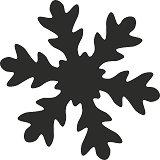 Пънч - Снежинка - Размер на щанцата XXL