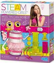 Мадам Кен - Робот - Образователен комплект от серията Steam Powered Kids -