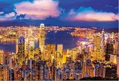 Хонг Конг - Неонов пъзел - пъзел