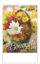 Стенен календар - Bouquets 2020 -