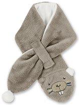 Бебешки шал - Бобърче - С дължина 80 cm -