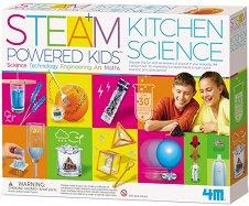 Експерименти в кухнята - Образователен комплект от серията Steam Powered Kids - играчка