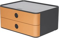 Кутия за документи с 2 чекмеджета - Allison Smart-Box - С размери 26 / 19 / 19.5 cm