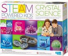 Наука за кристалите - Образователен комплект от серията Steam Powered Kids - играчка