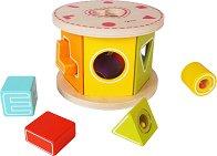 Сортер - Love - Детска дървена играчка -