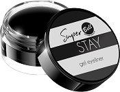 Bell Super Stay Gel Eyeliner - Водоустойчива очна линия - спирала