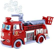 Пожарна кола със сапунени мехури - играчка