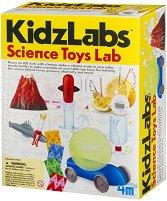 """Научна лаборатория - Експерименти - Детски образователен комплект от серията """"Kidz Labs"""" -"""