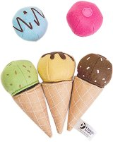 Сладолед за игра - Детски текстилни играчки -