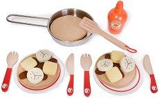 Палачинки за игра - Детски играчки от дърво и текстил -
