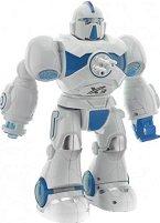 Робот - Детска играчка със звуков и светлинен ефект -