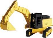Багер - Картонен 3D модел за сглобяване -