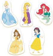"""Принцесите на Дисни - 5 пъзела с нестандартна форма от серията """"Baby"""" -"""