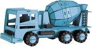 Бетоновоз - Картонен 3D модел за сглобяване -