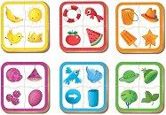 """Цветове - 6 образователни пъзела от серията """"Baby"""" -"""