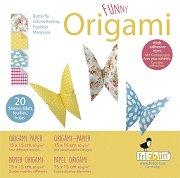 Оригами - Пеперуди - Творчески комплект -