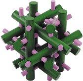 """Магически пръчки - 3D пъзел от серията """"IQ тест""""  -"""