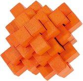 """Оранжев ананас - 3D пъзел от серията """"IQ тест""""  -"""