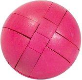 """Розова топка - 3D пъзел от серията """"IQ тест"""" -"""