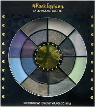 Markwins International Rock Fashion Eyeshadow Palette - Палитра със сенки за очи -