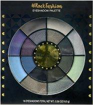 Markwins International Rock Fashion Eyeshadow Palette - Палитра със сенки за очи - сапун