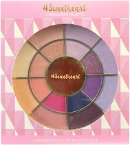 Markwins International Sweetheart Eyeshadow Palette - Палитра със сенки за очи -