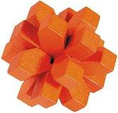 """Оранжев кристал - 3D пъзел от серията """"IQ тест"""" -"""