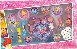 """Детски комплект с гримове - Disney Princess - От серията """"Принцесите на Дисни"""" -"""