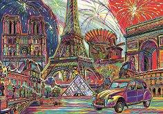Цветен Париж - пъзел