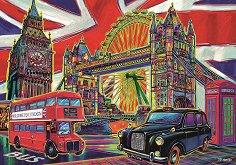 Цветен Лондон - пъзел