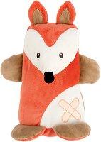 Лисичка - Мека бебешка играчка -