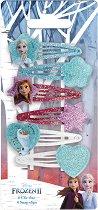 """Детски фиби за коса - Frozen 2 - Комплект от 6 броя от серията """"Замръзналото кралство"""" - душ гел"""