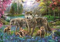 Семейство вълци - Ян Патрик Красни (Jan Patrik Krasny) - пъзел