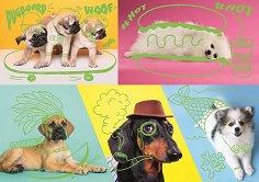 Забавни кучета - пъзел