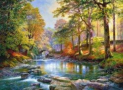 Покрай реката - пъзел