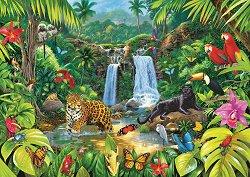В тропическата гора - пъзел